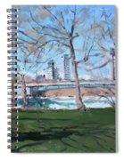 Upper Rapids Of Niagara Falls Ny Spiral Notebook