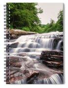 Upper Swallow Falls Close Up Spiral Notebook
