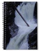 Upper Twin Falls Close Spiral Notebook