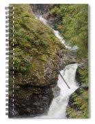 Upper Twin Falls Steps Spiral Notebook