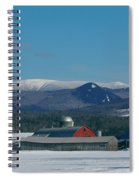 Upper Valley Farm Spiral Notebook