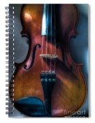 Upright Violin - Cool Spiral Notebook