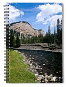 Upriver In Washake Wilderness Spiral Notebook