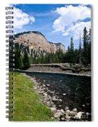 Upriver In Washake Wilderness Spiral Notebook