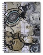 Upside Down And Inside Out Spiral Notebook