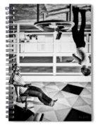 Upside Down Conversation Spiral Notebook