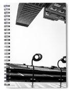 Upside Of Lexington Spiral Notebook