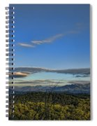 Upslope Flow Spiral Notebook