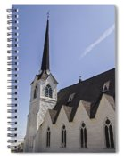 Upstate Church Spiral Notebook
