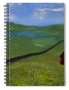 Upstate Lakes Region Spiral Notebook
