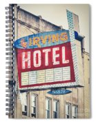Chicago's Irving Hotel Spiral Notebook