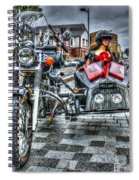 Ural Wolf 750 And Sidecar Spiral Notebook