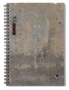 Urban Abstract Construction 1 Spiral Notebook