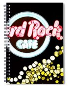 Urban Abstract Hard Rock Cafe Spiral Notebook