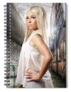 Urban Angel 1.0 Spiral Notebook