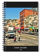 Urban Cross Walks Spiral Notebook