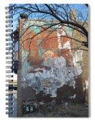 Urban Decay Mural Wall 4 Spiral Notebook