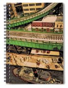 Urban Dock Spiral Notebook