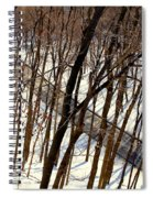 Urban Forest At Dusk Spiral Notebook