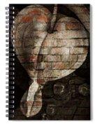 Urban Heart Spiral Notebook