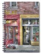 Urban Mercyseat Oil Painting Spiral Notebook