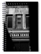 Urban Sense 1b Spiral Notebook