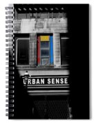 Urban Sense 1c Spiral Notebook