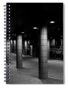 Urban Silence.. Spiral Notebook
