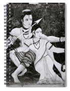 The Hindu Epic Spiral Notebook