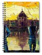 Urban Story - Hotel-dieu De Lyon Spiral Notebook