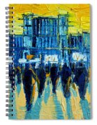 Urban Story - The Romanian Revolution Spiral Notebook