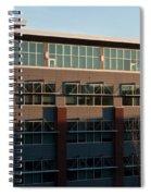 Urban Sunrise Glow Spiral Notebook