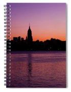 Urban Sunrise Spiral Notebook