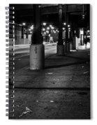 Urban Underground Spiral Notebook