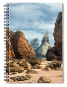 Ursa Beach Rocks Spiral Notebook
