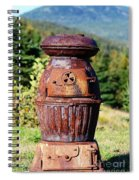 Us Army Cannon Heater No 18 Spiral Notebook