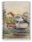 Us Cartoons - Philippines Spiral Notebook
