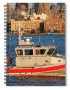U.s. Coast Guard - Always Ready Spiral Notebook