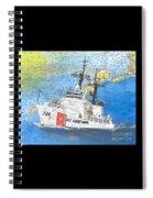 Us Coast Guard Cutter Munro Nautical Chart Cape San Blas Lighthouse Fl Nautical Chart Cathy Peek Spiral Notebook