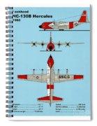 Coast Guard Hc-130 B Hercules Spiral Notebook