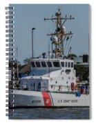 Us Coast Guard Yellowfin Spiral Notebook