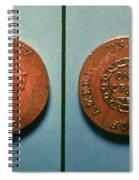 U.s. Coin, 1793 Spiral Notebook