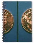 U.s. Currency, 1796 Spiral Notebook