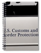 U.s. Customs And Border Protection Spiral Notebook