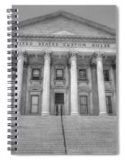 Us Customs House Spiral Notebook