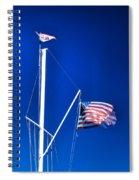 Us Flag 19749 Spiral Notebook