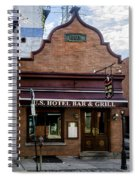 Us Hotel Bar And Grill - Manayunk  Spiral Notebook