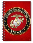 U. S. Marine Corps - U S M C Emblem Special Edition Spiral Notebook