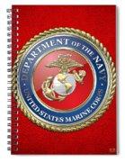 U. S. Marine Corps - U S M C Seal  Spiral Notebook
