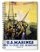 Us Marines Spiral Notebook